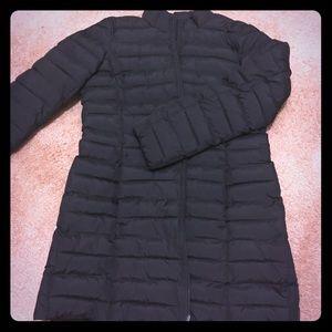 [j jill] Black puffer coat ❄️